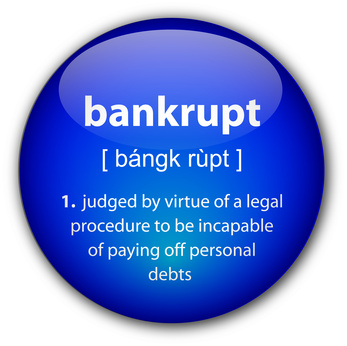If You Declare Bankruptcy